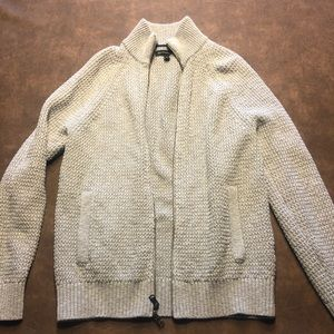 Banana Republic sweater jacket zip-up